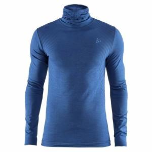ביגוד Craft לגברים Craft  Fuseknit Comfort Turtleneck - כחול
