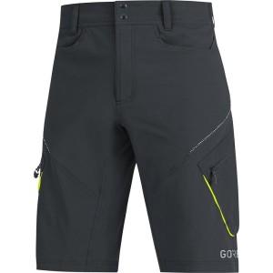 ביגוד גרואי לגברים GORE  C3 Trail Shorts - שחור