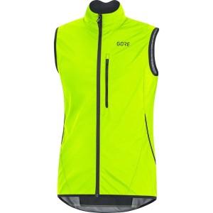 ביגוד גרואי לגברים GORE  C3 Windstopper Light Vest - צהוב