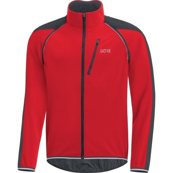 ביגוד גרואי לגברים GORE  C3 Windstopper Phantom Zip-Off Jacket - אדום