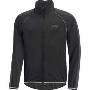 ביגוד גרואי לגברים GORE  C3 Windstopper Phantom Zip-Off Jacket - שחור