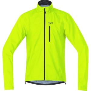 ביגוד גרואי לגברים GORE  C3 tex Active Jacket - צהוב