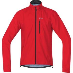 ביגוד גרואי לגברים GORE  C3 tex Active Jacket - אדום