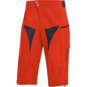 ביגוד גרואי לגברים GORE  C5 All Mountain Shorts - אדום