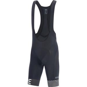 ביגוד גרואי לגברים GORE  C5 Optiline Bib Shorts+ - לבן