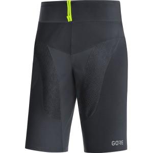 ביגוד גרואי לגברים GORE  C5 Trail Light Shorts - שחור