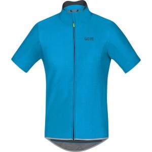 ביגוד גרואי לגברים GORE  C5 Windstopper Jersey - כחול