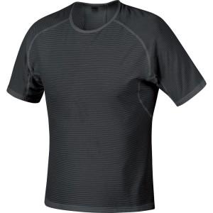 ביגוד גרואי לגברים GORE  M Base Layer Shirt - שחור