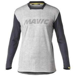 ביגוד מאוויק לגברים Mavic  Deemax Pro L/S LTD - אפור