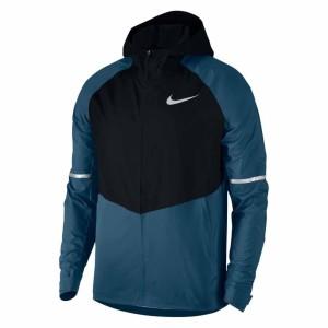 בגדי חורף נייק לגברים Nike  Aeroshield Zonal Hooded - כחול