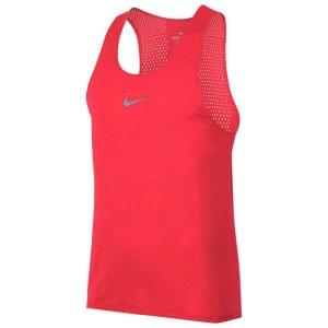 ביגוד נייק לגברים Nike  Aeroswift - אדום