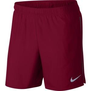 נייק לגברים Nike  Challenger Lined - אדום יין