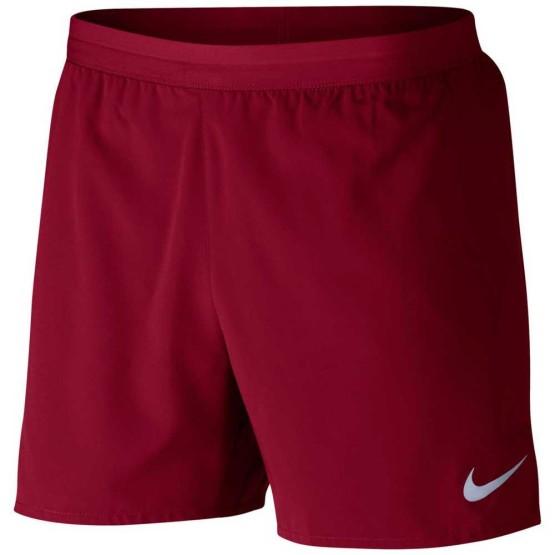 ביגוד נייק לגברים Nike  Distance Lined - אדום יין