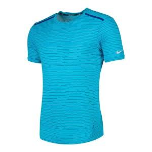 ביגוד נייק לגברים Nike  Dri Fit Cool Tailwind Stripe - כחול
