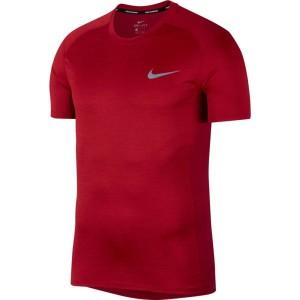 ביגוד נייק לגברים Nike  Dry Miler - אדום