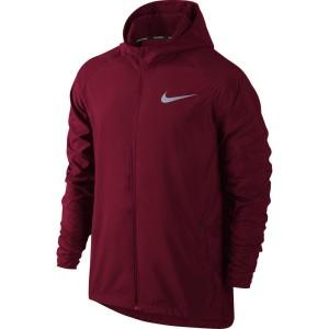 בגדי חורף נייק לגברים Nike  Essential Hooded - אדום יין
