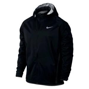 בגדי חורף נייק לגברים Nike  Shield Jacket Hooded Zoned - שחור