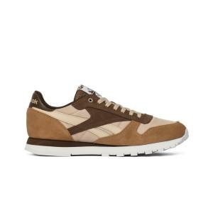 נעליים ריבוק לגברים Reebok Classic Leather Mccs - חום