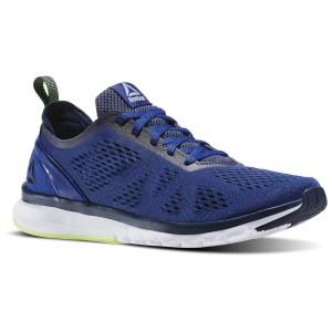 נעלי אימון ריבוק לגברים Reebok Print Smooth Clip U - כחול