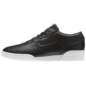 נעליים ריבוק לגברים Reebok Workout LO Clean ID - שחור