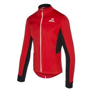 ביגוד ספייוק לגברים Spiuk  Anatomic Membrane Jacket - אדום