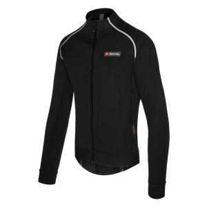 ביגוד ספייוק לגברים Spiuk  Elite Pro Jacket - שחור