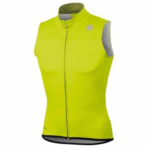 ביגוד ספורטפול לגברים Sportful  Bodyfit Pro Windstopper - צהוב