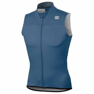 ביגוד ספורטפול לגברים Sportful  Bodyfit Pro Windstopper - כחול