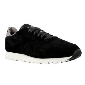 נעלי הליכה ריבוק לגברים Reebok CL Leather Tdc - שחור