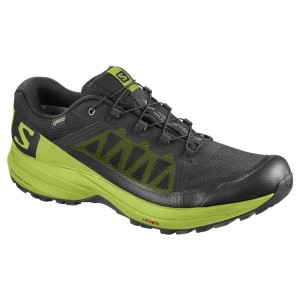 נעליים סלומון לגברים Salomon XA Elevate Goretex - שחור/צהוב