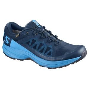 נעליים סלומון לגברים Salomon XA Elevate Goretex - כחול/תכלת