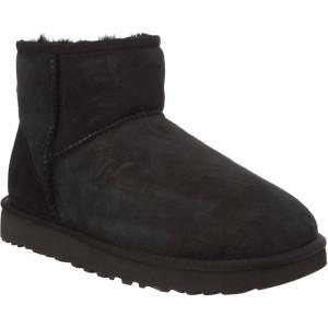 מגפיים האג לנשים UGG CLASSIC MINI II BLACK - שחור