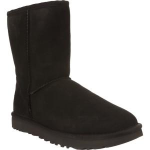 מגפיים האג לנשים UGG CLASSIC SHORT II BLACK - שחור