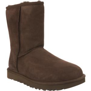 מגפיים האג לנשים UGG CLASSIC SHORT II CHOCOLATE - חום