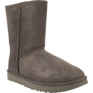 מגפיים האג לנשים UGG CLASSIC SHORT II GREY - אפור