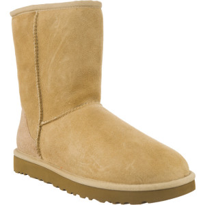 מגפיים האג לנשים UGG CLASSIC SHORT II SAND - קאמל