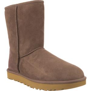 מגפיים האג לנשים UGG CLASSIC SHORT II SYGR BROWN - חום