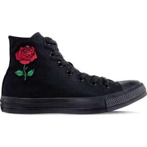 נעליים קונברס לנשים Converse VINTAGE ROSE - שחור מלא