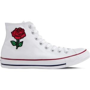 נעליים קונברס לנשים Converse VINTAGE ROSE - לבן