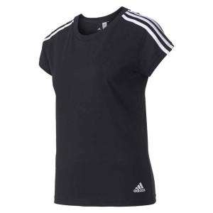 ביגוד אדידס לנשים Adidas  Essentials 3 Stripes Slim - שחור