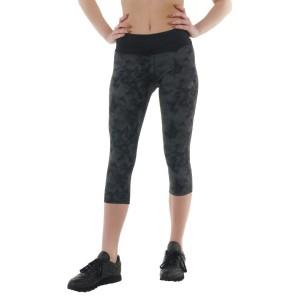 ביגוד אסיקס לנשים Asics  34 Fuzex Knee Tight - שחור/אפור