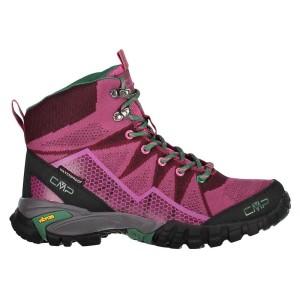 נעלי טיולים סמפ לנשים CMP Tauri Mid - ורוד/אדום