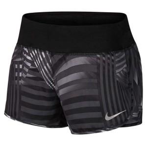 ביגוד נייק לנשים Nike  Flex 3 Rival Printed Shorts - שחור