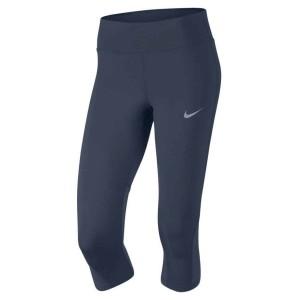 ביגוד נייק לנשים Nike  Power Epic Lux Capri Mesh - כחול