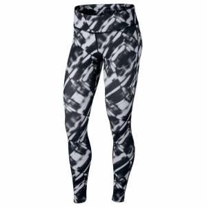 ביגוד נייק לנשים Nike  Power Epic Run Printed - שחור/לבן