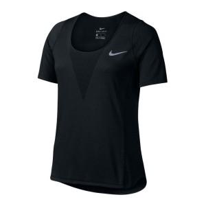 ביגוד נייק לנשים Nike  Zonal Cooling Relay S/S Top - שחור