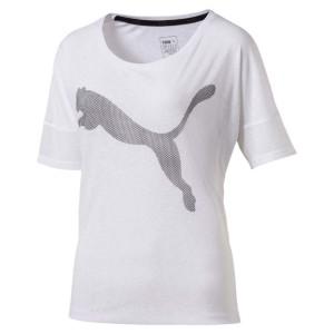 חולצות פומה לנשים PUMA Loose - לבן