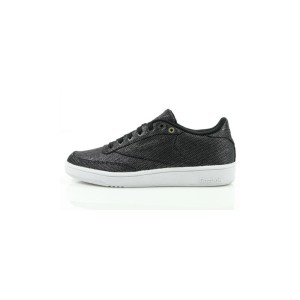 נעלי הליכה ריבוק לנשים Reebok Club C 85 - שחור נצנצים