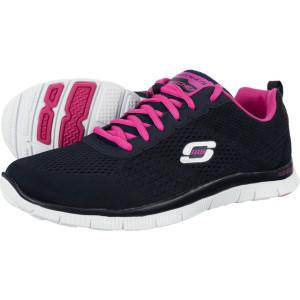 נעלי הליכה סקצ'רס לנשים Skechers Flex Appeal Obvious Choice - שחור