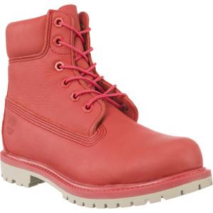 מגפיים טימברלנד לנשים Timberland 6 IN PREMIUM BOOT - אדום